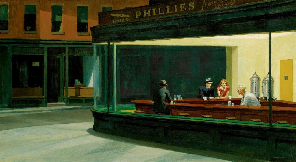Edward_Hopper-Nighthawks-1942